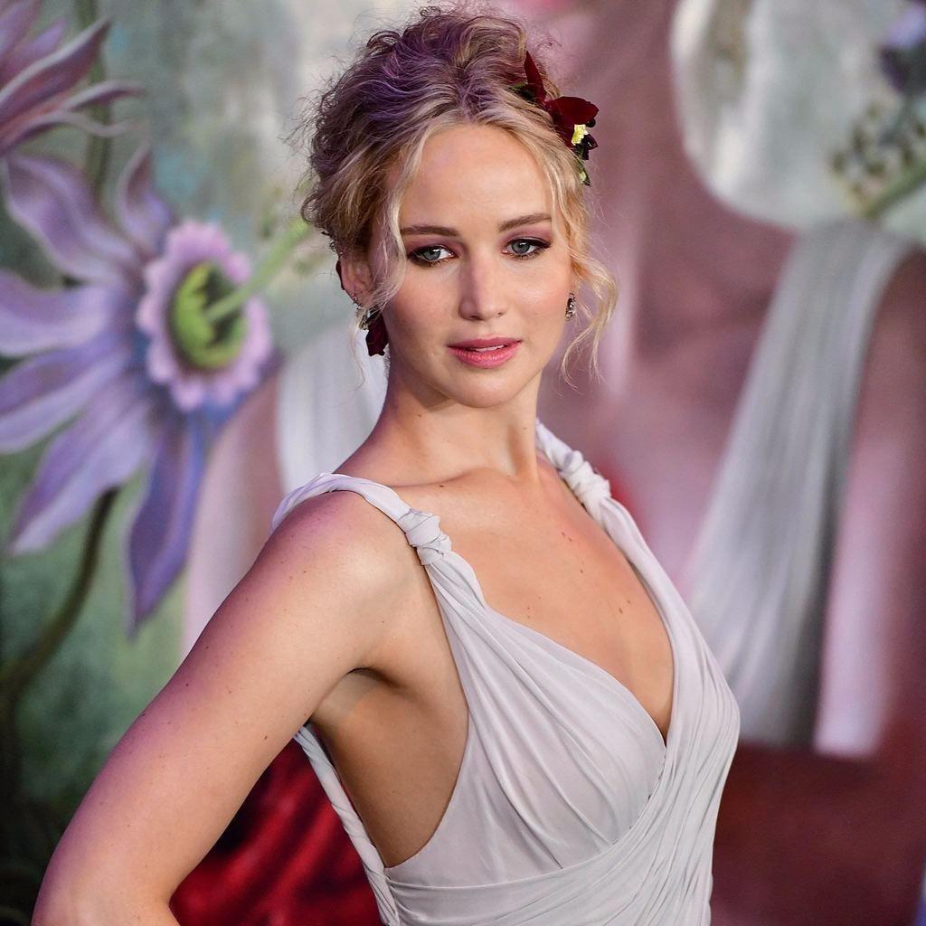 Jennifer Lawrence  Kleid hochzeit, Feier, Die braut des prinzen