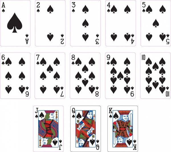 Spade Suit Two Playing Cards Cards Printable Playing Cards Playing Cards Design