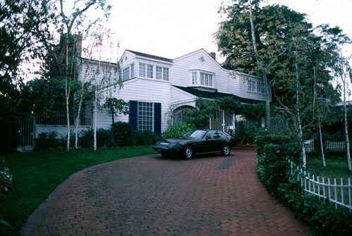 Their House In Beverly Hills Hollywood Homes Celebrity Houses Natalie Wood