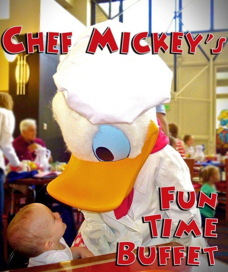 Chef Mickey's Fun Time Buffet