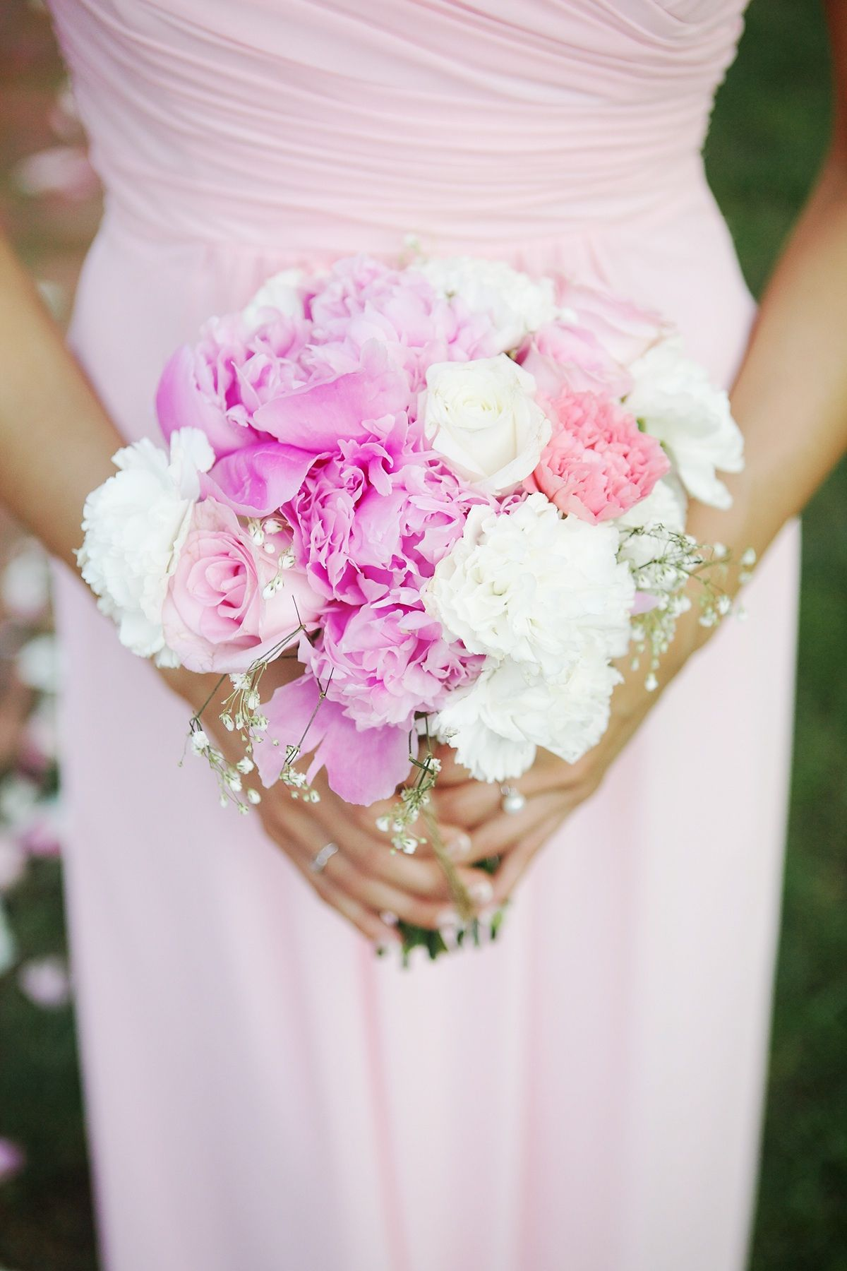 Rose Carnation Peony And Babies Breath Bouquet Carnation Wedding Bouquet Carnation Wedding Wedding