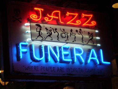Jazz Funeral Photo Bor4s http://www.flickr.com/photos/11189403@N05/