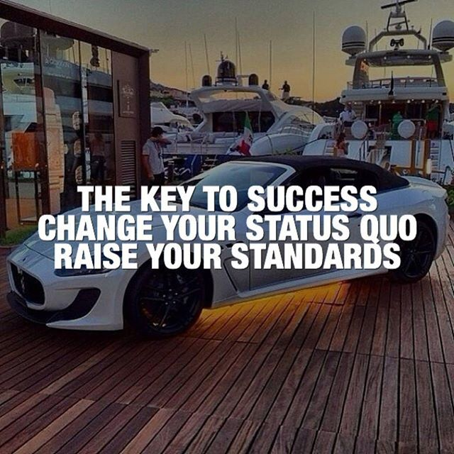 Raising your standards will change the person you are.  #entrepreneurship #grind #startup #success #successquotes  #startuplife