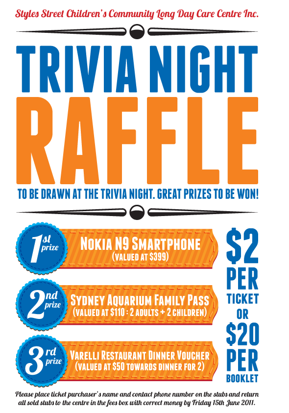 Raffle Poster  Just Because     Fundraising And Layouts