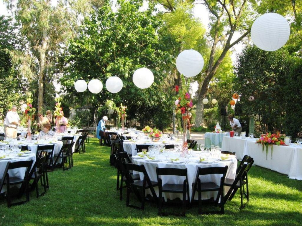 Event Decorating on a Budget Wedding Cheap backyard wedding and