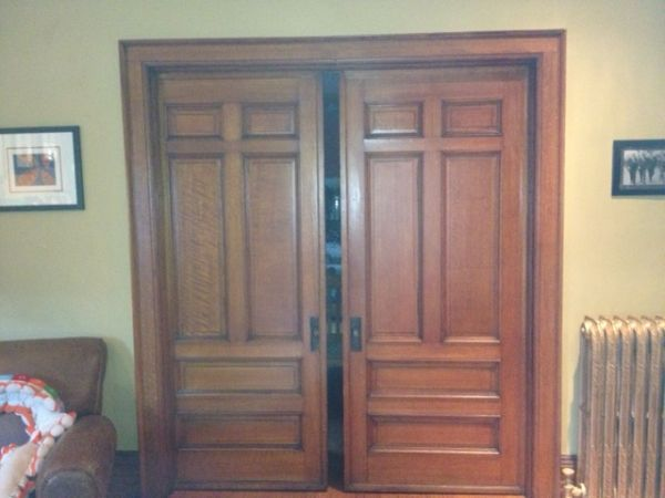 1900s Pocket Door System Why On Earth Did They Ever Do Away With Pocket Doors They Re Ingenious Pocket Doors Architectural Pieces Windows And Doors