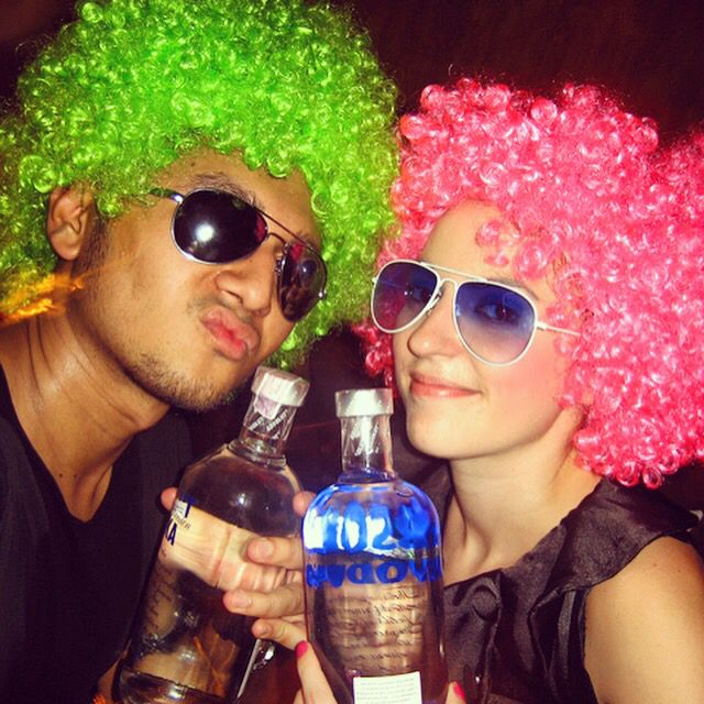 Happy birsdayyyy @aimeerachael... #throwback to 2007... Man time flies... Will never forget this afro party u threw back in the day in #public... Stay golden bebs... Always! Much love and light