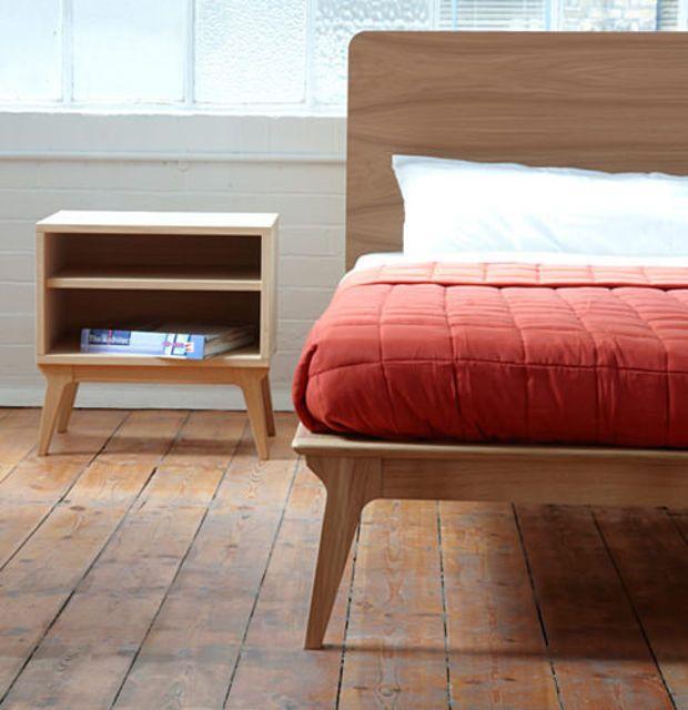 Mesita de noche Tables Pinterest Mesita de noche, Muebles - mesitas de madera