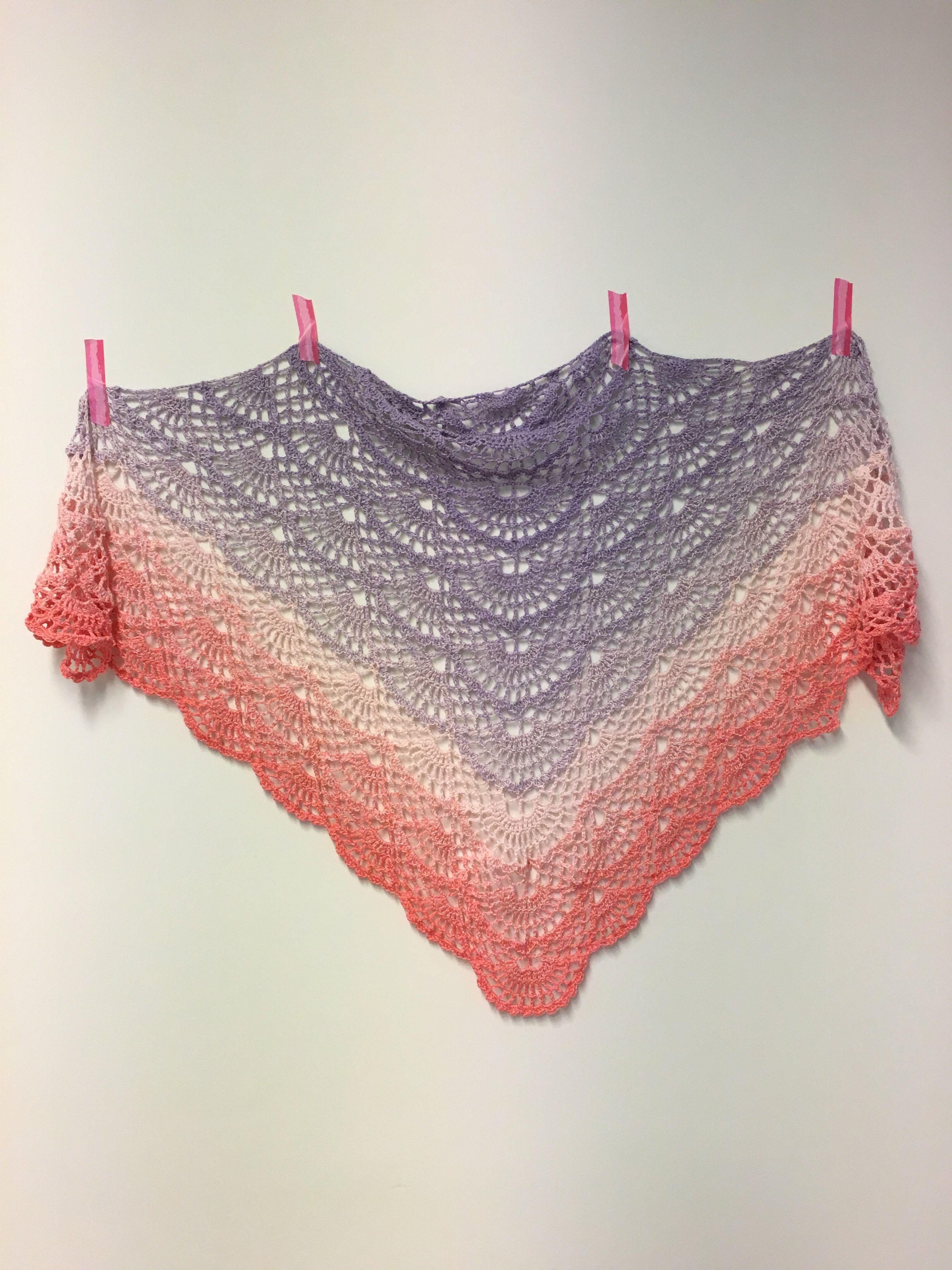 Een bol Katia Spring Rainbow van Caro\'s Atelier | crochet | Pinterest