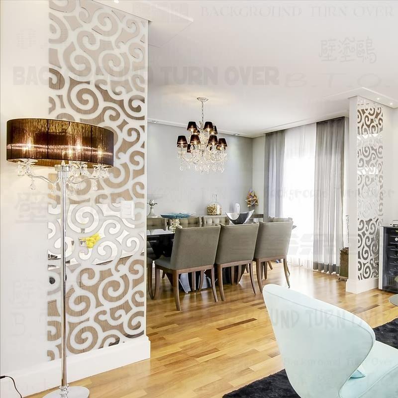 Decor Mirror Wall, Mirror Decoration Stickers