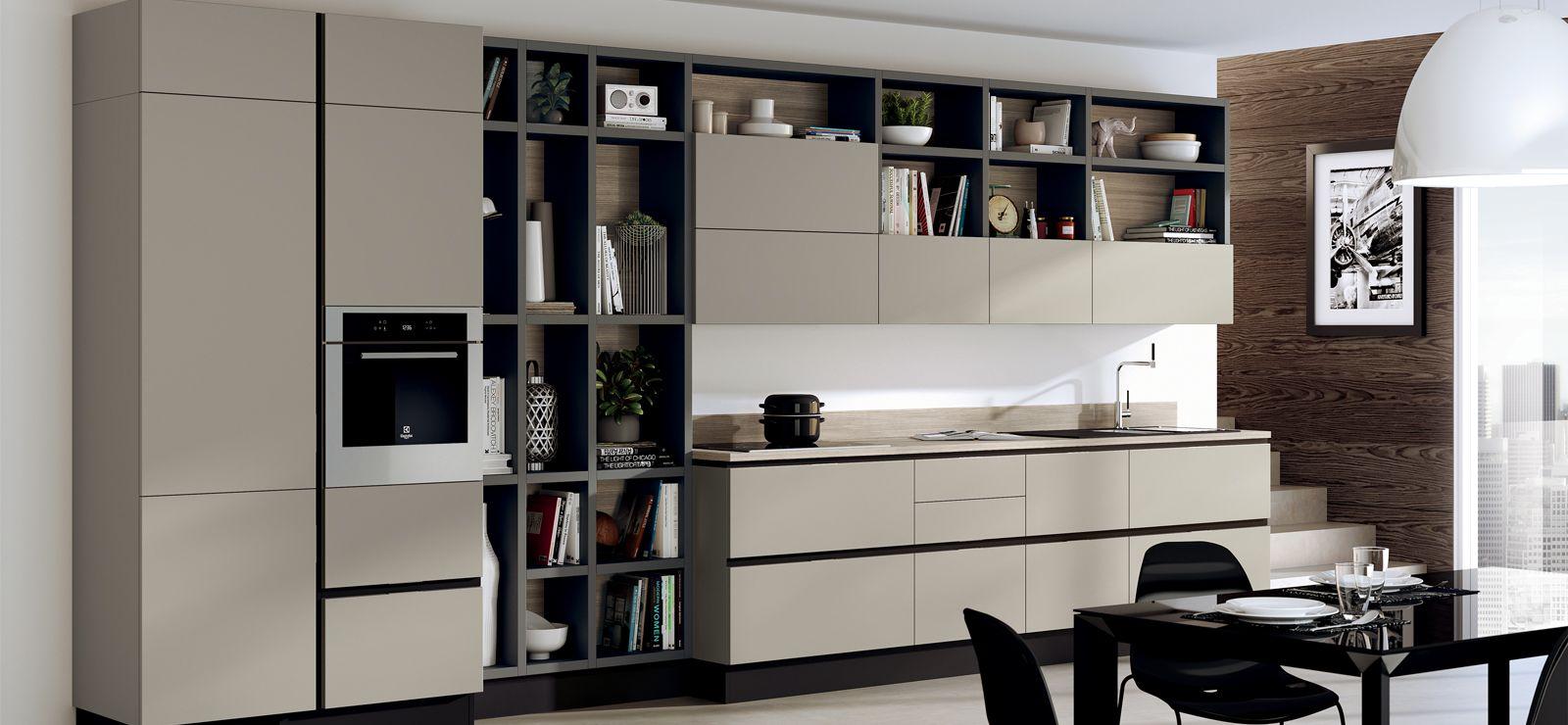 Living Scavolini | Living integrati con cucina | Pinterest | Cucine ...