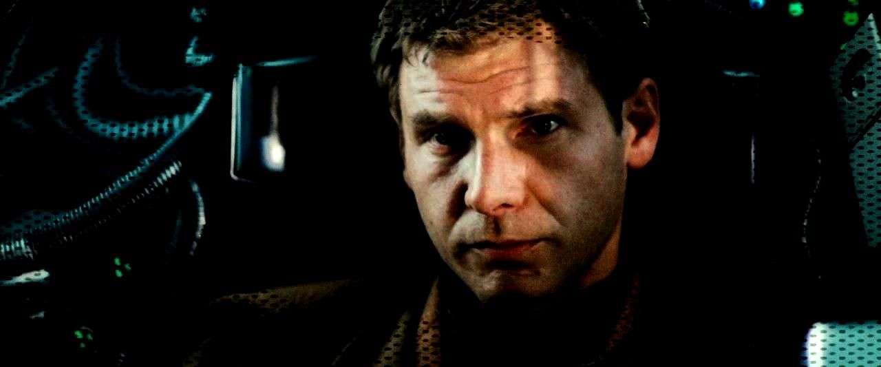 Ford in Blade Runner (1982) -Harrison Ford in Blade Runner (1982) -You can find Cyberpunk an...