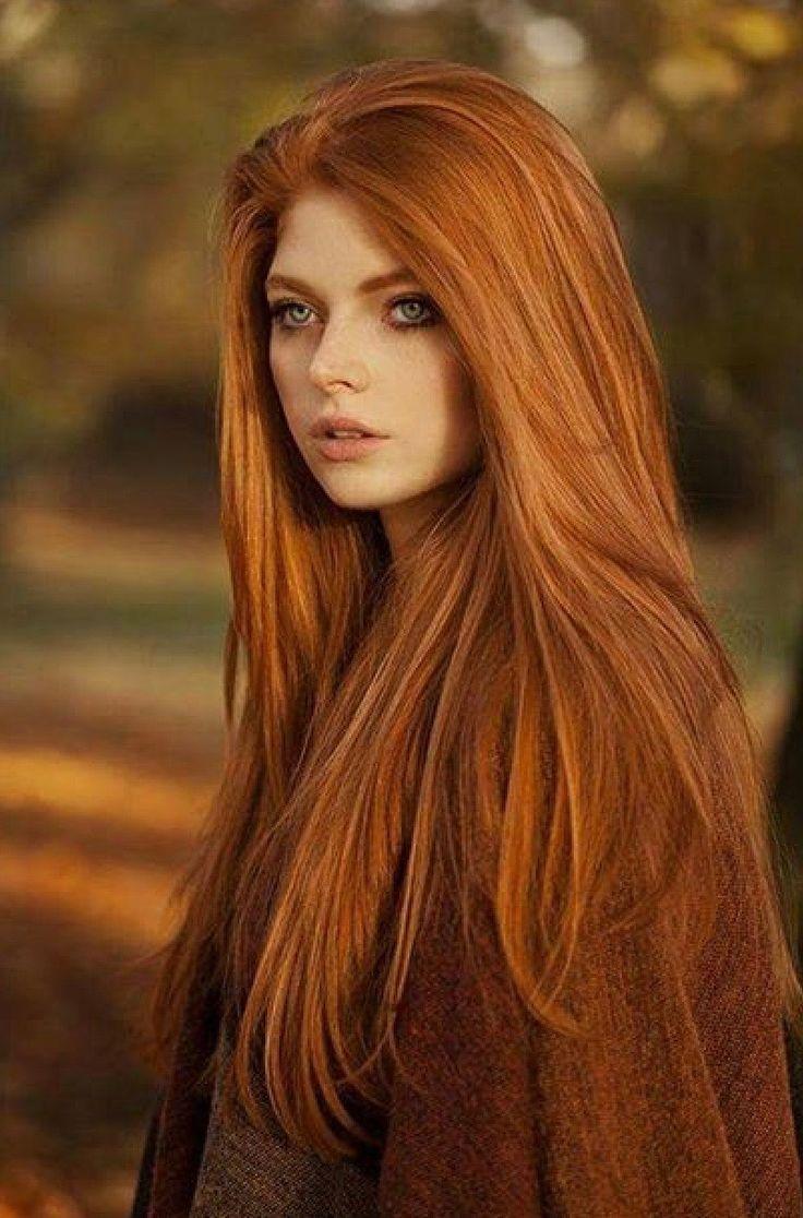 Autumn Red #haircolor #hairstyle #haarfarbe #frisuren  Haarfarben