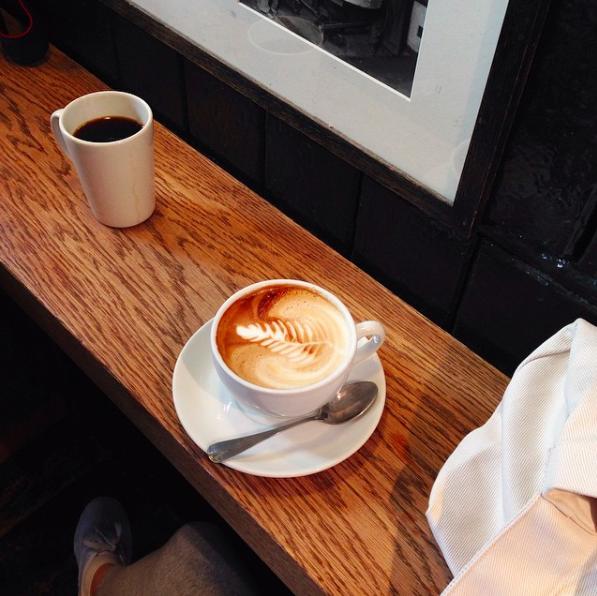 Monmouth Coffee, London. Photo creds: insta @ra.ni__