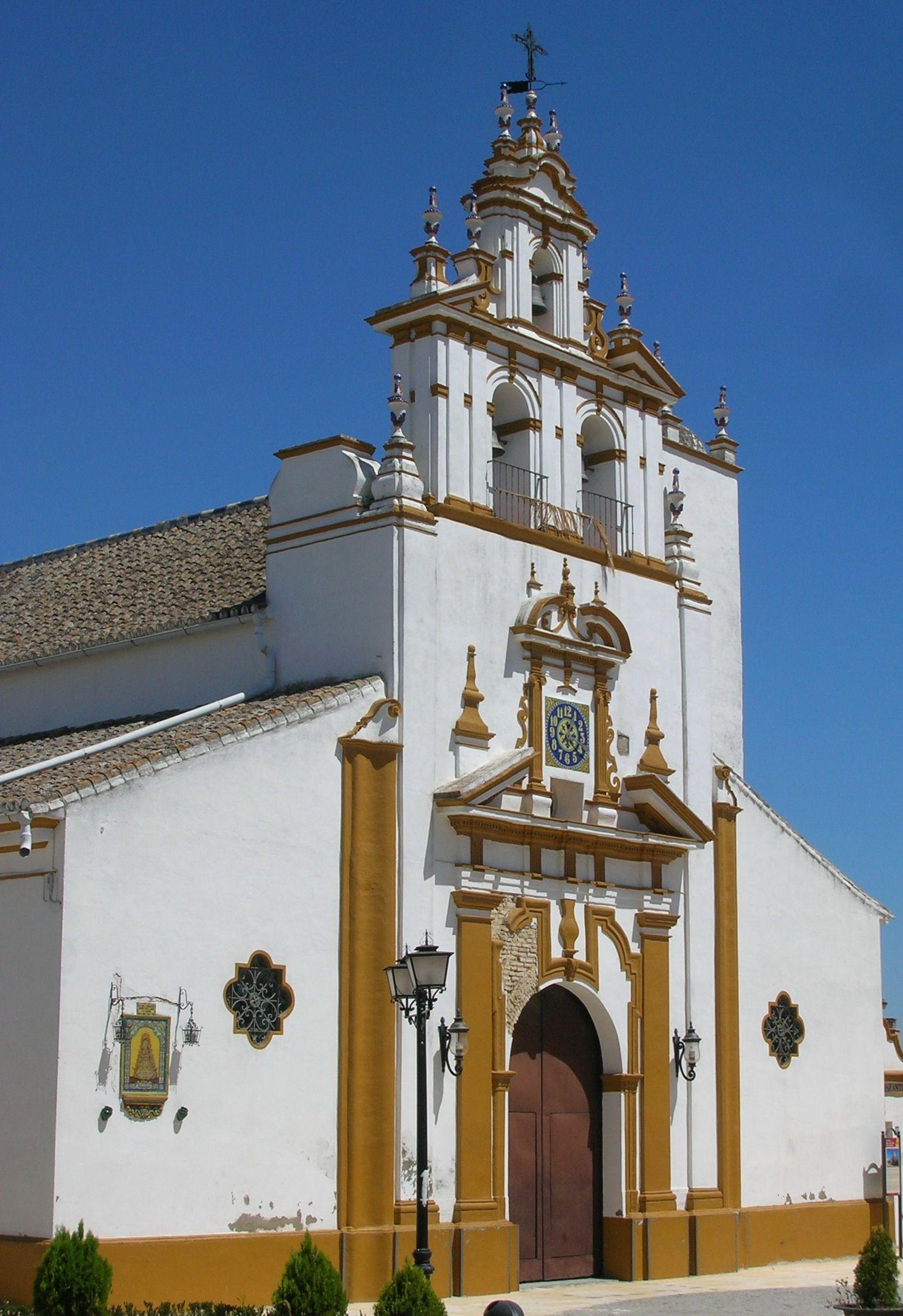 Iglesia de Bormujos, Sevilla, España.) | España