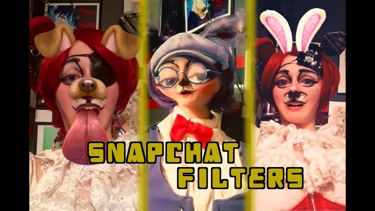 Bonnie and Foxy Find Snapchat Filters! Snapchat filters