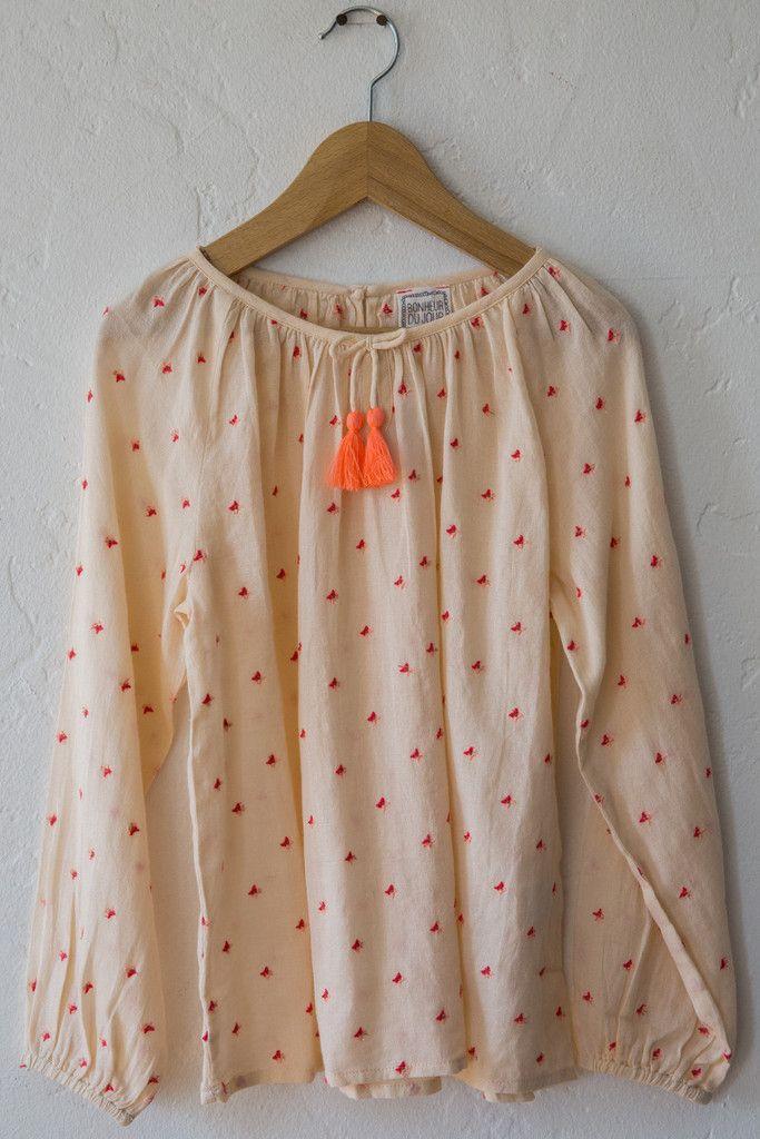 bonheur du jour pompom blouse – Lost & Found
