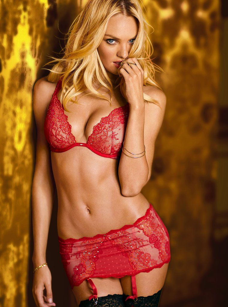 Candice swanepoel hot lingerie will