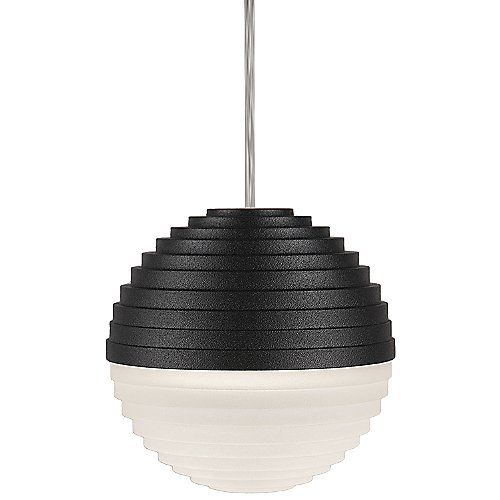 The kuzco lighting pd105 led mini pendant is a unique piece made of heavy gauge acrylic