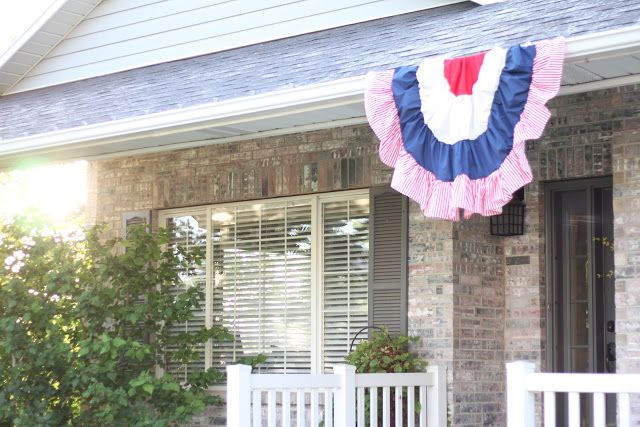DIY Semi-Circle American Flag Sew WHAT?!? Pinterest Flags