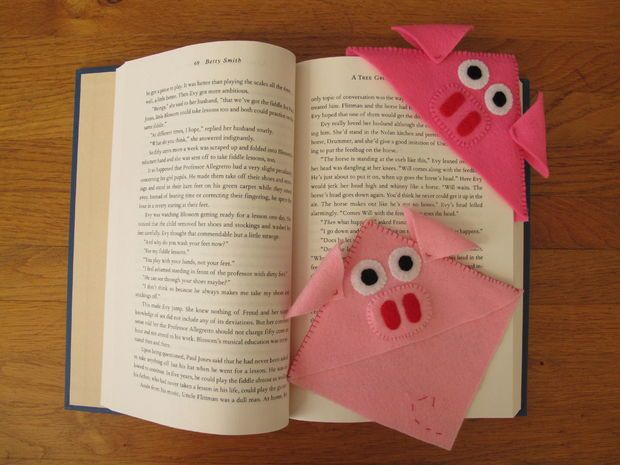 Bookpiglet DIY - no sewing machine needed:o)
