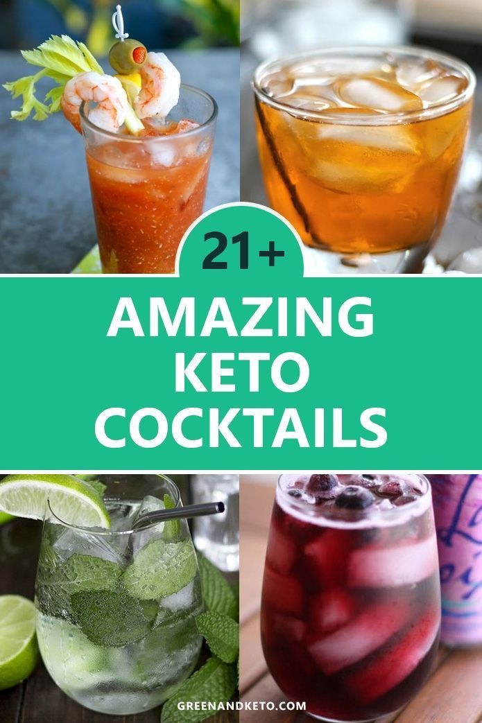 21 Keto Cocktails: The Best Keto Alcoholic Drinks - Green and Keto
