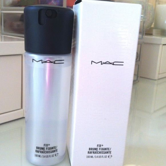Mac Fix Plus Fix Plus a great hydrating spray that is infused with  camomile, cucumber, and green tea. It's really great for an instant boost of hydration while working as a makeup setter. Brand New with box! Never been used. No trades just sell. MAC Cosmetics Makeup Face Primer