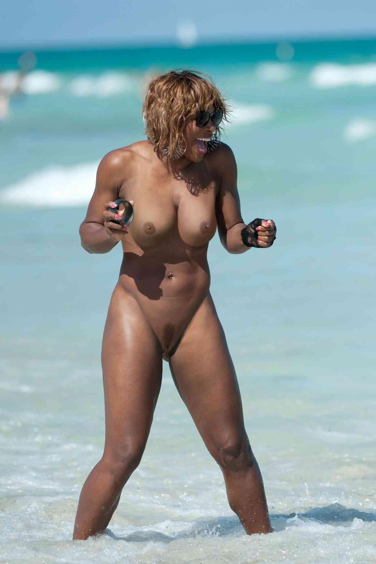 Nude Bilder von Sarena Williams
