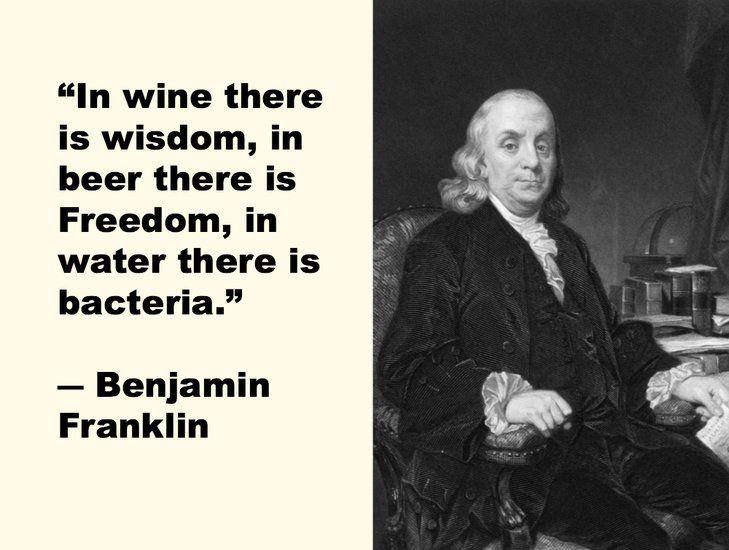 Benjamin Franklin The Greatest Quotes Ever Slurred
