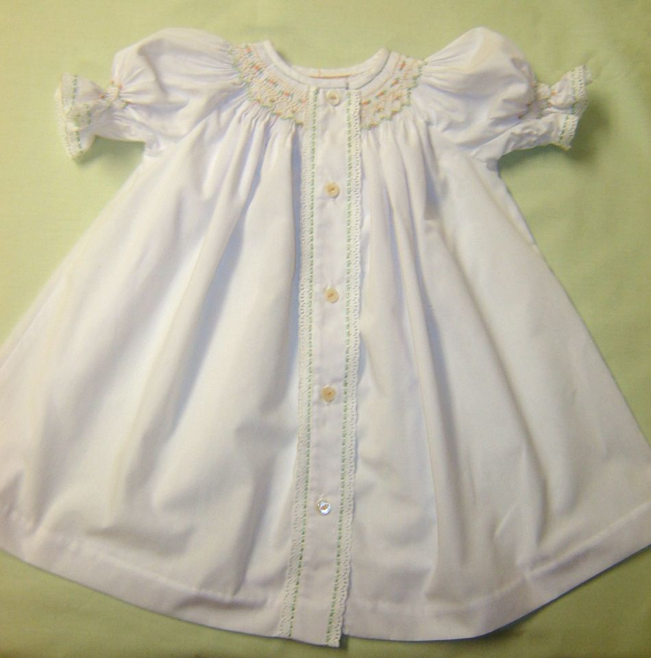 f7aec4cf4880f Martha Pullen Ready-to-Smock daygown | baby sewing | Smocking baby ...