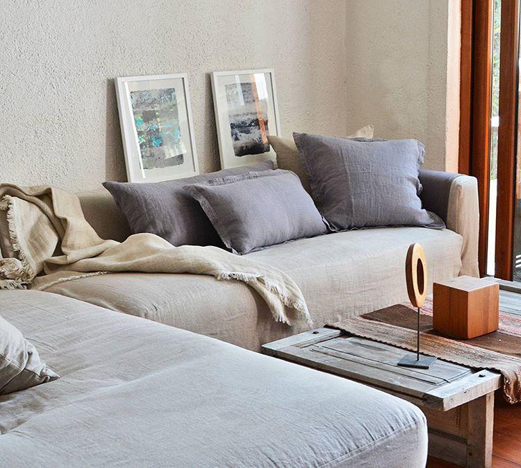 Rincones entrelinos #relaxtime #decoracion #lino #casa #homedecor