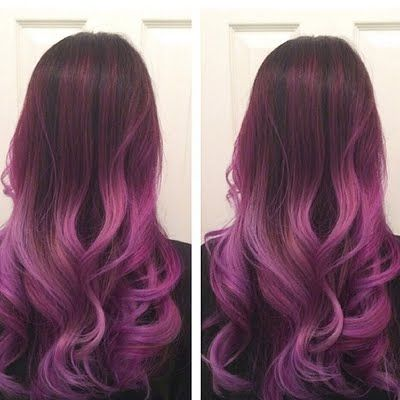 Make A Statement On Your Night Out In This Balayage Ombre