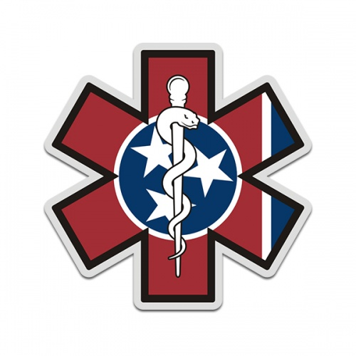 American Flag Emt Star Of Life Window Sticker Decal Ambulance Logo In 2020 Usa Flag Stickers Ambulance Logo Logo Sticker
