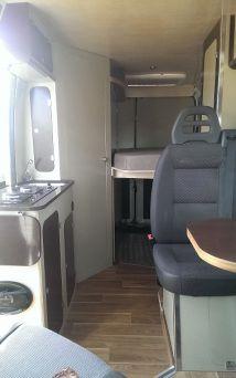 Peugeot Boxer Camper Interior Camper Van Conversion Diy Camper