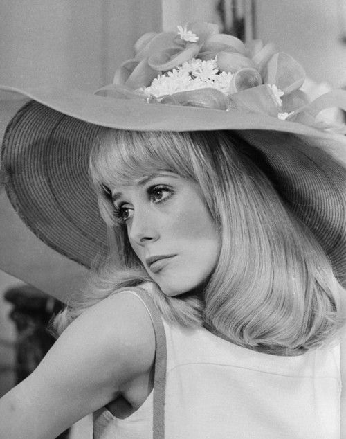 theswingingsixties:  Catherine Deneuve  Meetmeinthemorning: She's so beautiful.  http://vintagestitch.tumblr.com/page/5#