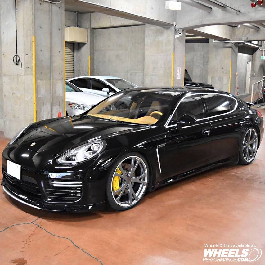 Porsche Panamera Turbo with Techart wheels wheelsgram Wheels