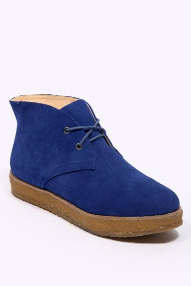 Literally: Blue Suede Shoes