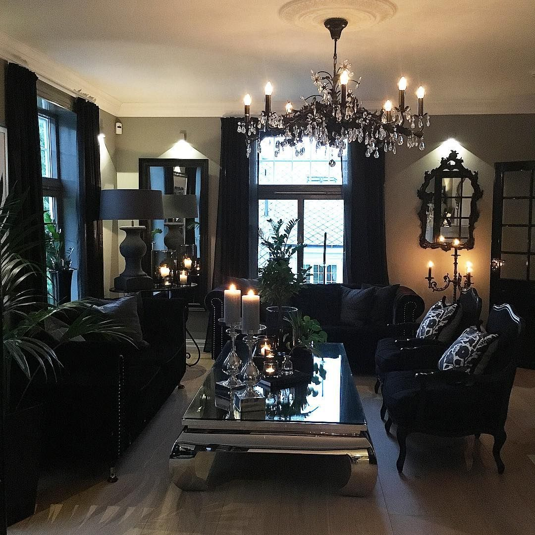 Glam living room living room redo gothic living rooms gothic bedroom living
