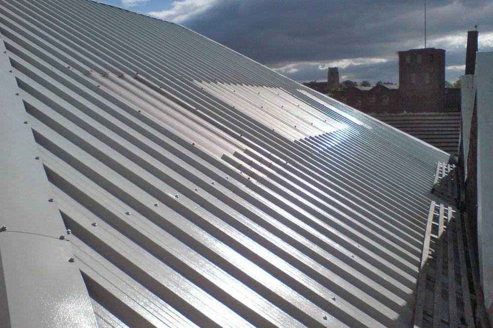 Corrugated Metal Roof Skylights Metal Roofing Roof