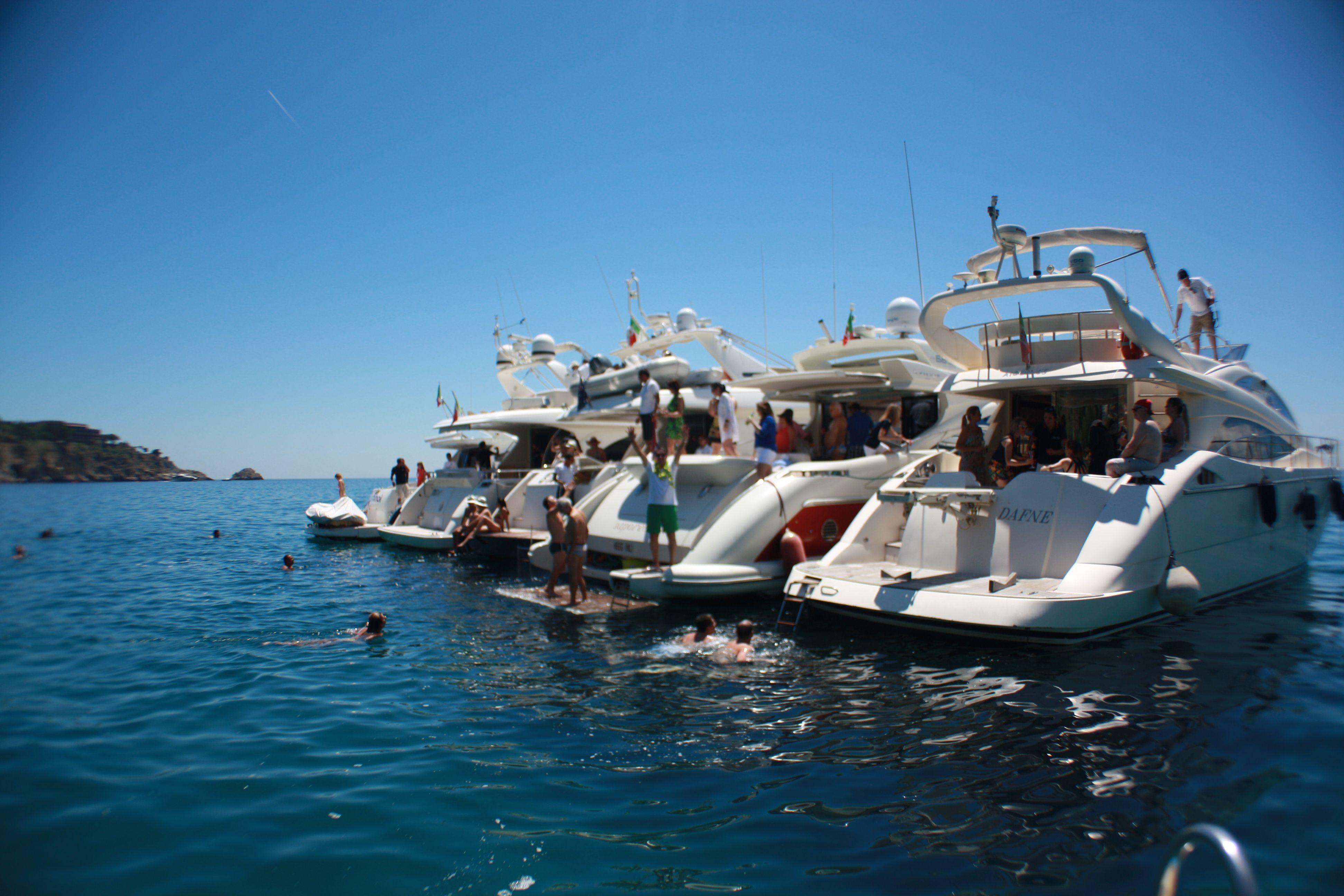 Yacht Events #Sicily #Taormina