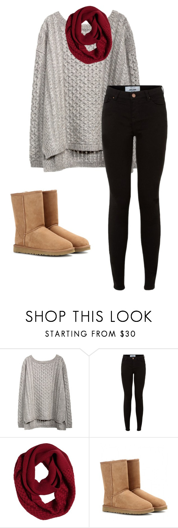 """""""Untitled #85"""" by mari-890 ❤ liked on Polyvore featuring prAna and UGG Australia"""