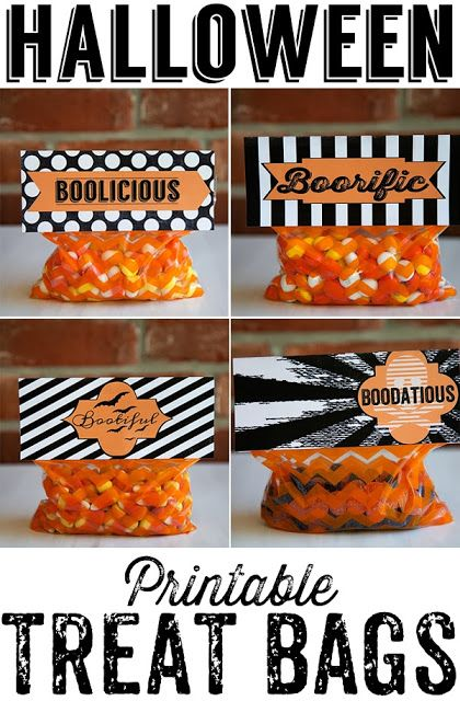 Halloween varios para imprimir gratis Para Imprimir Gratis - halloween treat bag ideas