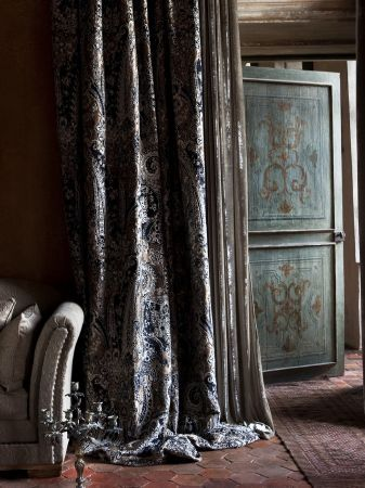 Delightful Grey Velvet Curtains   Love The Drape, But Not Sure About The Pattern
