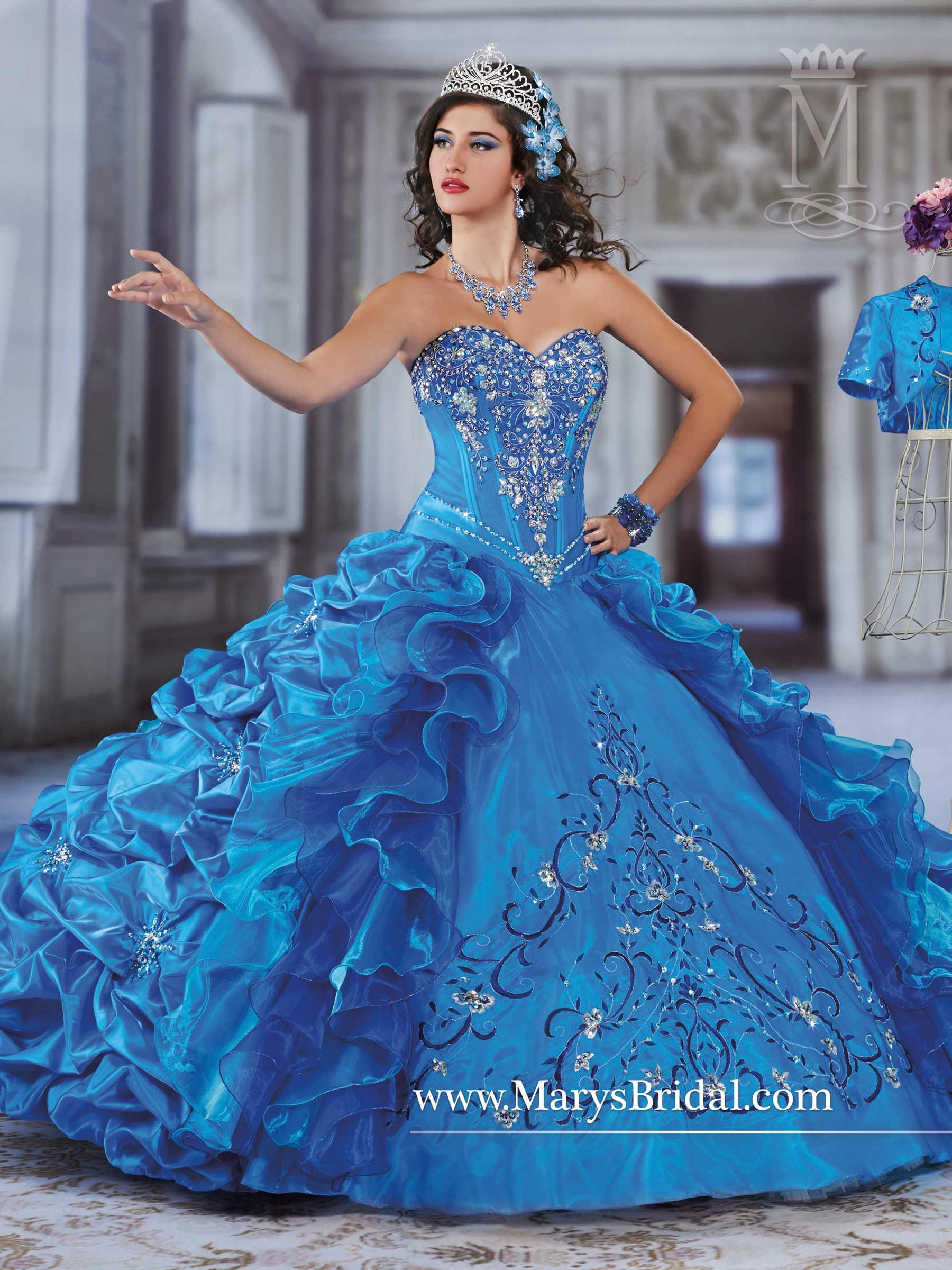Quinceanera - Princess - Style: 4Q953 by Mary\'s Bridal Gowns | Prom ...