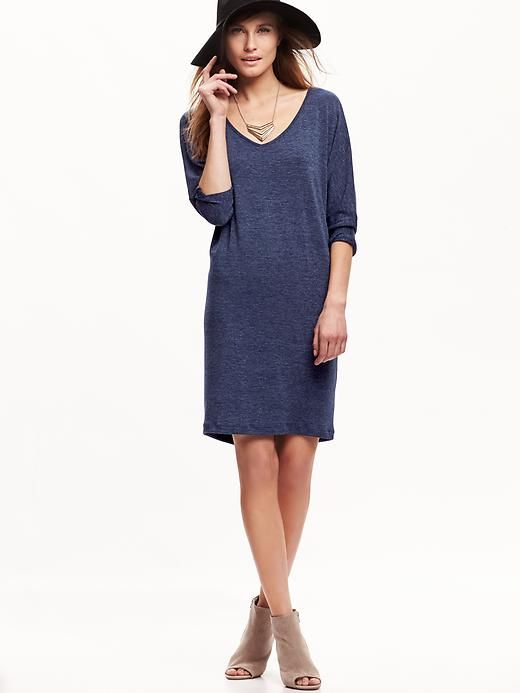 06b5841e70 Jersey Cocoon Dress - Old Navy - size medium - color  indigo (I don t know  why it says size large tall