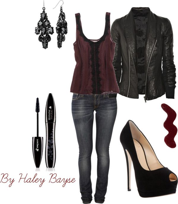 Glam Rock By Haley Bayse On Polyvore Fashion It Is