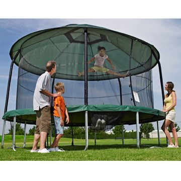 Protective Cover For 15ft Jumppod Trampoline Justtrampolines Com