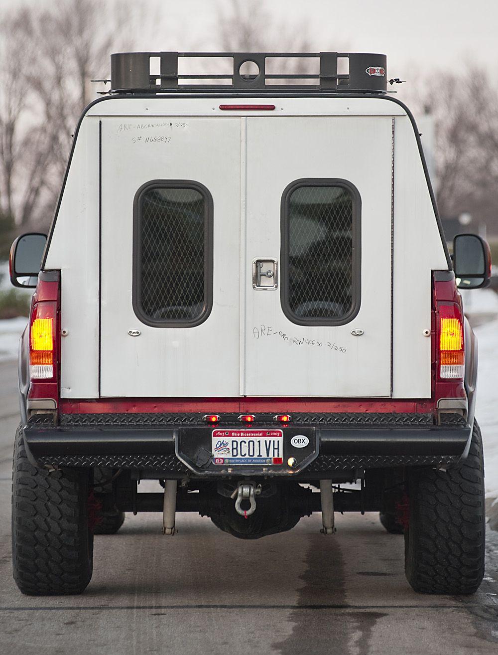 ARE DCU TRUCK cap Truck bed camping, Truck camper shells