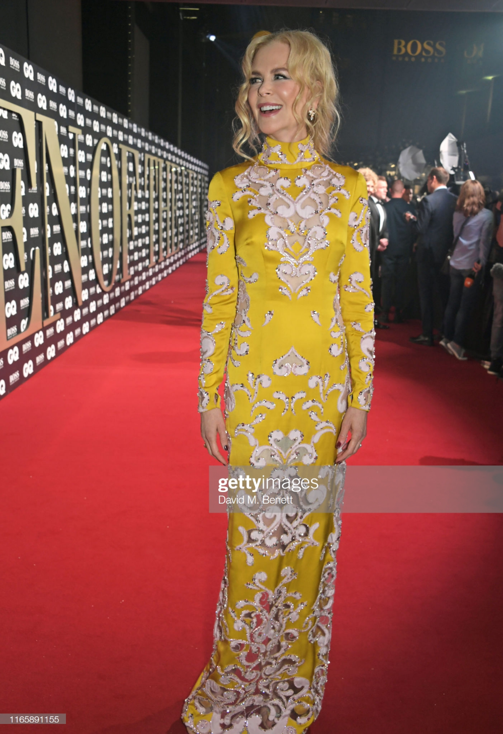 Nicole Kidman attends the the GQ Men Of The Year Awards
