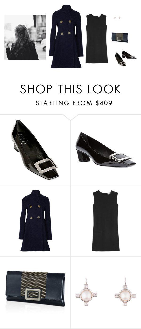 """""""Old-fashioned girl"""" by panda6980 ❤ liked on Polyvore featuring Roger Vivier, Victoria Beckham, Acne Studios and Cathy Waterman"""